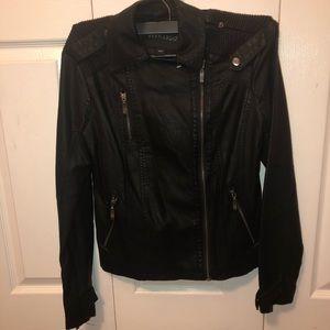 Bernardo leather jacket small